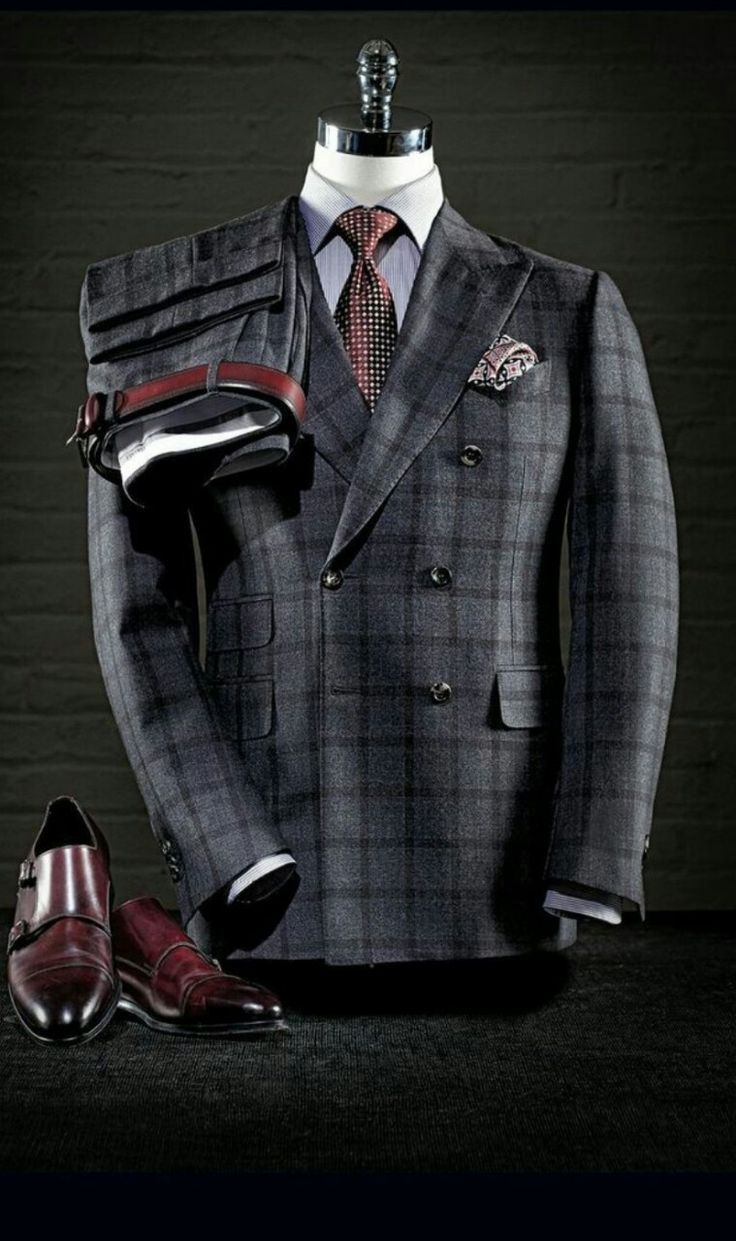 Everybody loves Suits : What a great looking double breasted jacket. The...