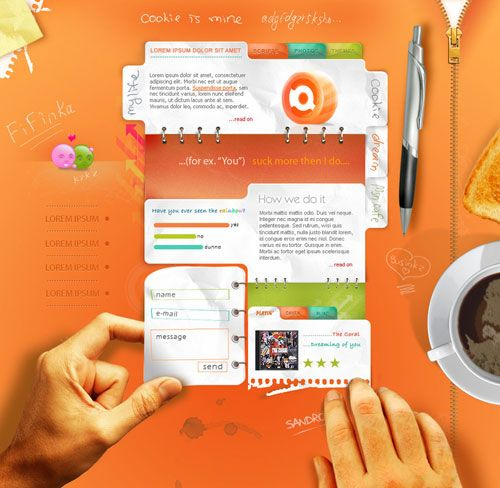 Images About Web And Design On Pinterest Creative Desktop