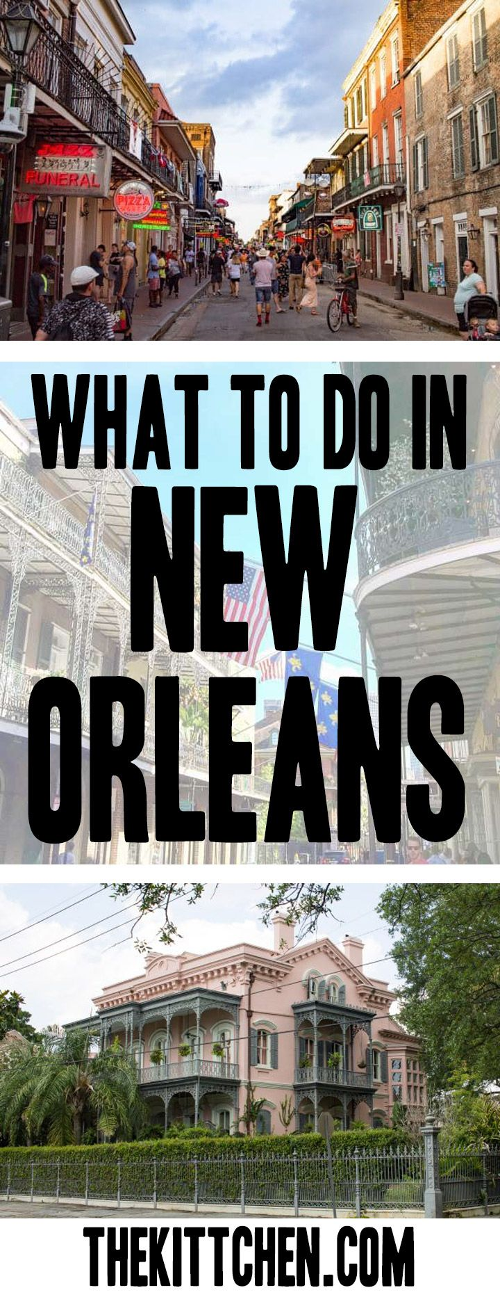 Plan the perfect itinerary for your trip to New Orleans! ***************************************** USA travel | USA destinations | Things to do in New Orleans | New Orleans food | New Orleans French Quarter | What to do in New Orleans | New Orleans bucket list | New Orelans buildings | United States travel