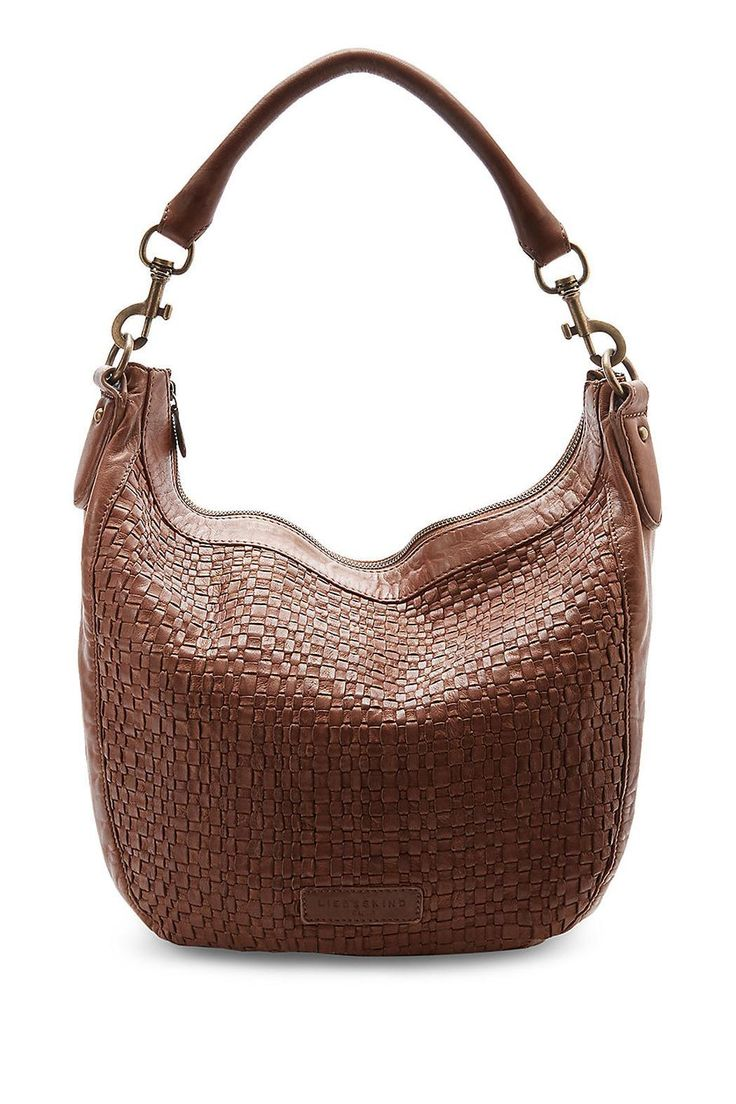 """Handbag with crocodile effect texture and detachable shoulder strap.    Approx. Measures: 13.8"""" x 13.8"""" x 6""""       Robin Purse by Liebeskind. Bags - Shoulder & Hobo Toronto, Canada"""