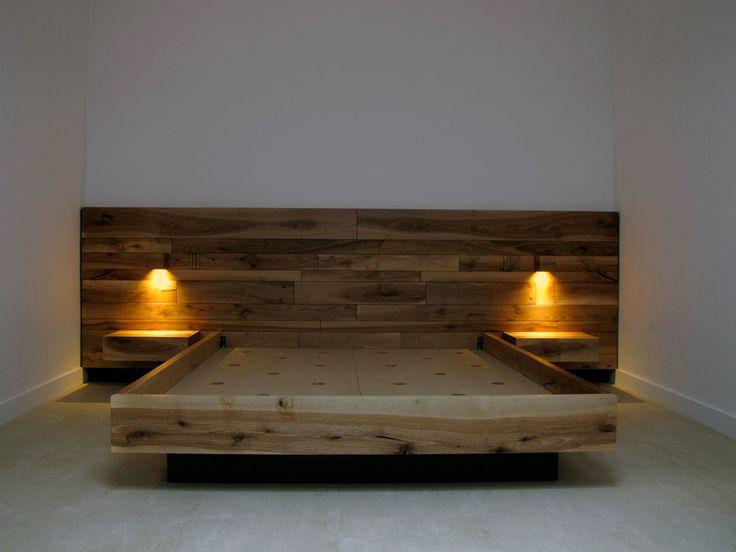 Onlywoodbcn | cama de madera de nogal madera maciza