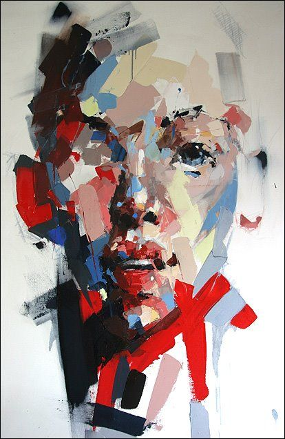 South Africa Artist Ryan Hewett (1979) | Fractured2FRAGMENTSoftCOLOR | Mixed medium onCANVAS | 170x140cm