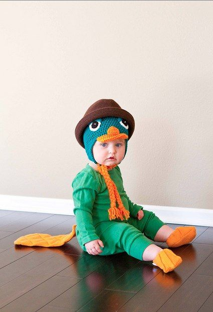 Oh, there you are Perry.: Tara Child, Ezra Halloween, Halloween Costumes, Semi Aquatic Baby, Baby Perry, Perry'S The Platypus, Platypus Costumes, Perry The Platypus, Poor Child