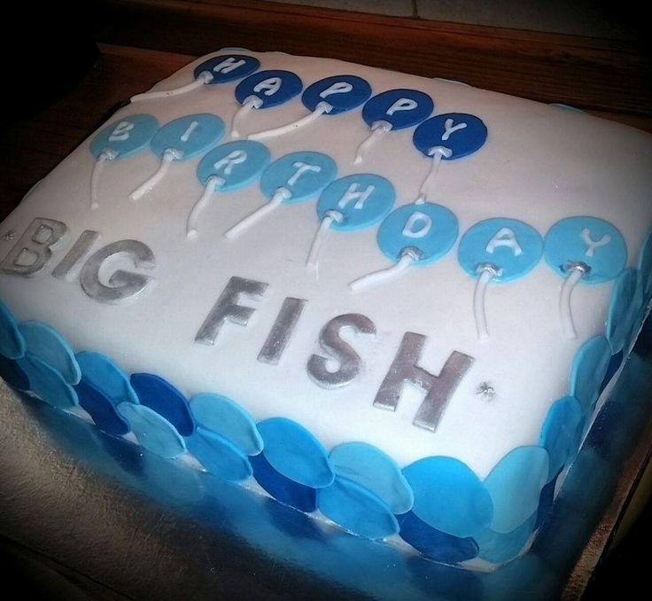 Big fish cake