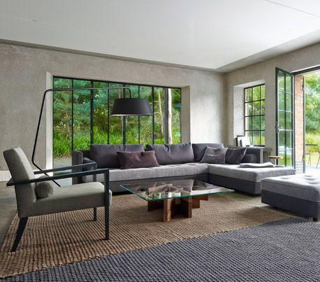 Ligne Roset Interior  #concrete #bungalow #modern #glass #dream #home