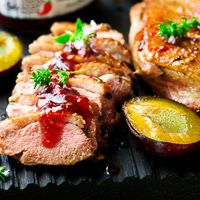 Sautéed Duck Breast with Sun-Dried Cherry Sauce Recipe | Wine Pairing | Gold Medal Wine Club