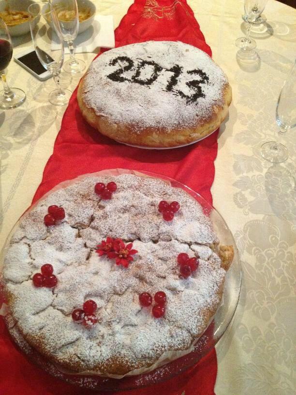 New Year's eve vanilla cakes