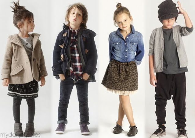 Pretty Stems: Zara Kids.
