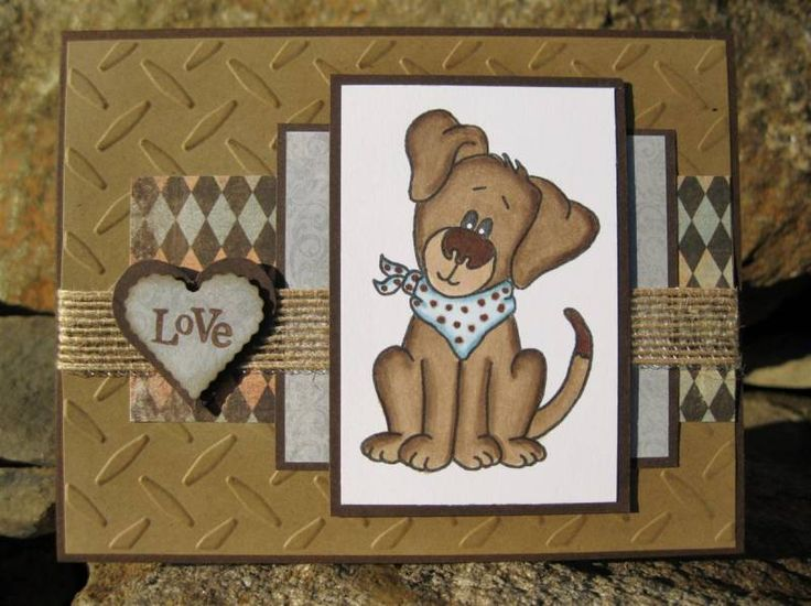 Puppy Love by catcrazy - Cards and Paper Crafts at Splitcoaststampers