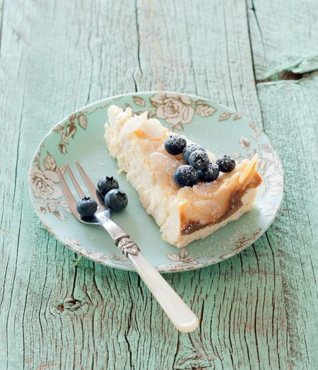 Lemon-Ricotta Cheesecake with Blueberries - TWD Fast & Fresh Recipes