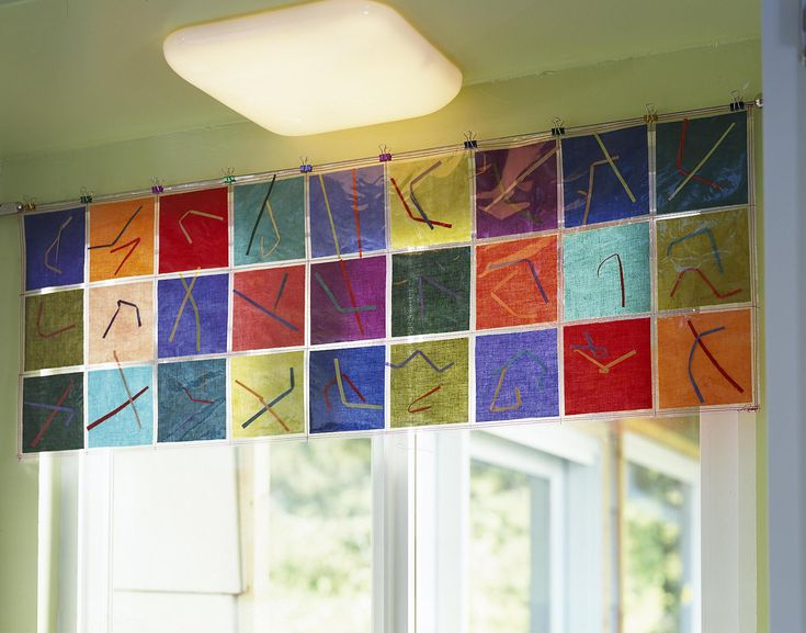 Valances For Windows In Classroom Preschool Classroom