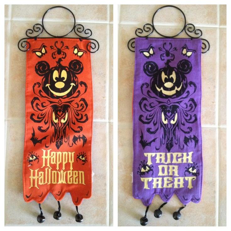 Halloween Door Hanger from Disney