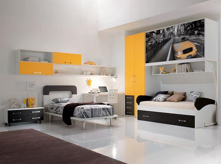 Modern Italian Kids Bedroom Set WEB 51 by SPAR