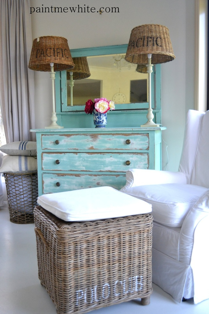 OOOH - idea!!  A's bike painting over old dresser instead of armoire in sunroom?!