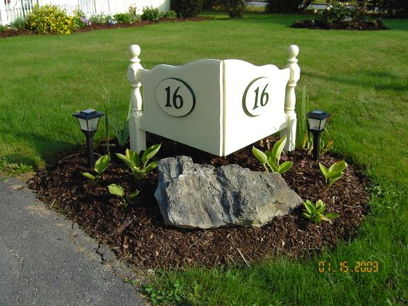 49 best Mailboxes House Numbers images on Pinterest House