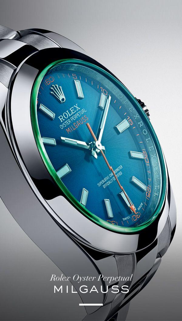 The Rolex Milgauss 40 mm. #RolexOfficial #Baselworld.