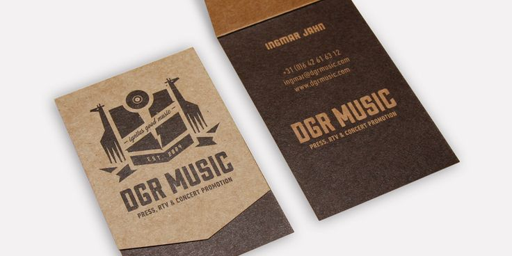 DGR Music huisstijl