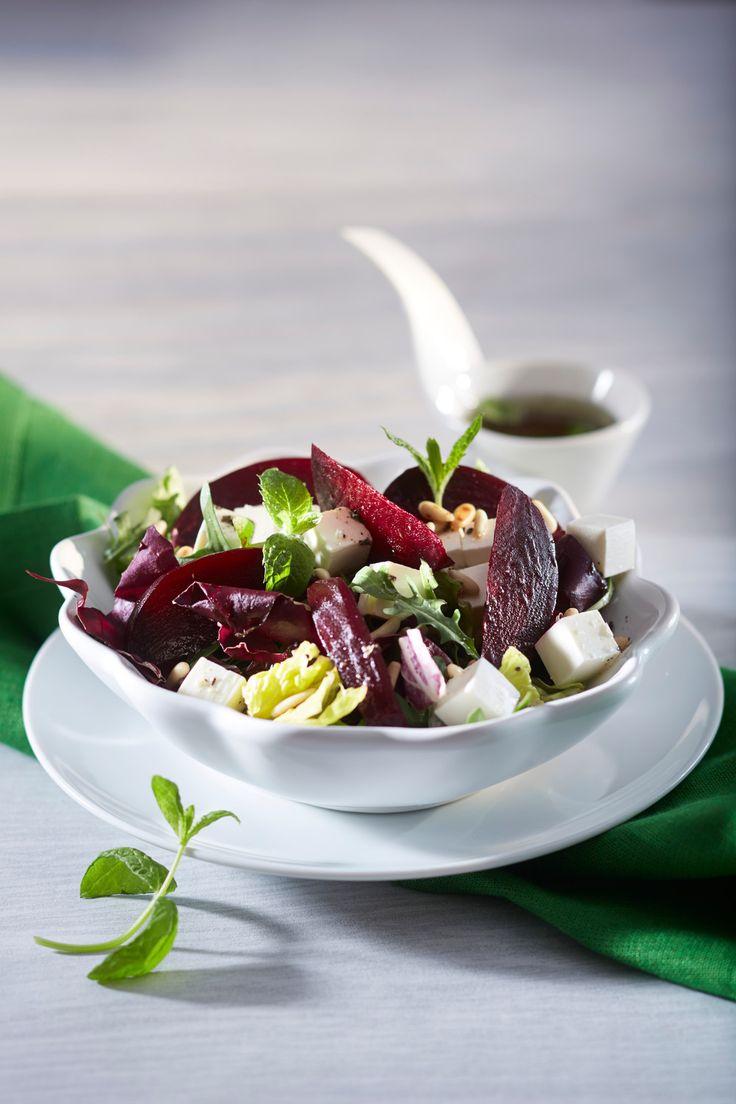 Vuohenjuusto-punajuurisalaatti | K-ruoka