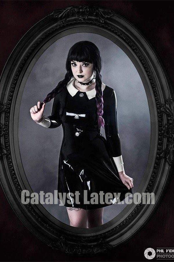 Wednesday Addams inspired Dress by Kitalyst on Etsy https://www.etsy.com/listing/475050544/wednesday-addams-inspired-dress