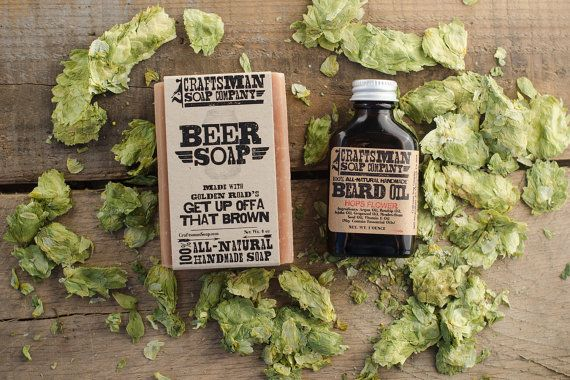 beer soap and beard oil - Top Groomsmen Gift Ideas for 2014