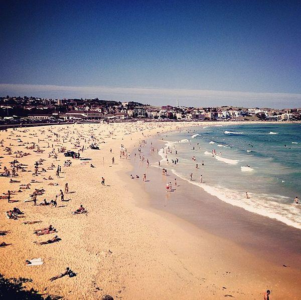 Bondi Beach - Go Australia!