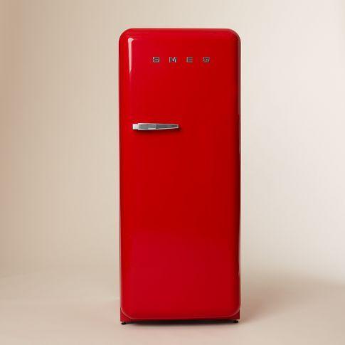 I wish... SMEG Refrigerator - Red | west elm