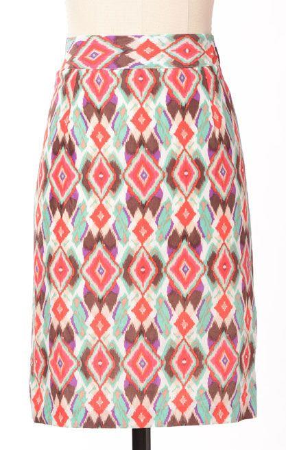 Ikat Skirt: Down East Basics
