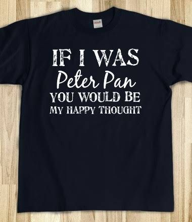 Peter Pan - awesome. That's a pretty good pick up line, if I do say so myself. ;)