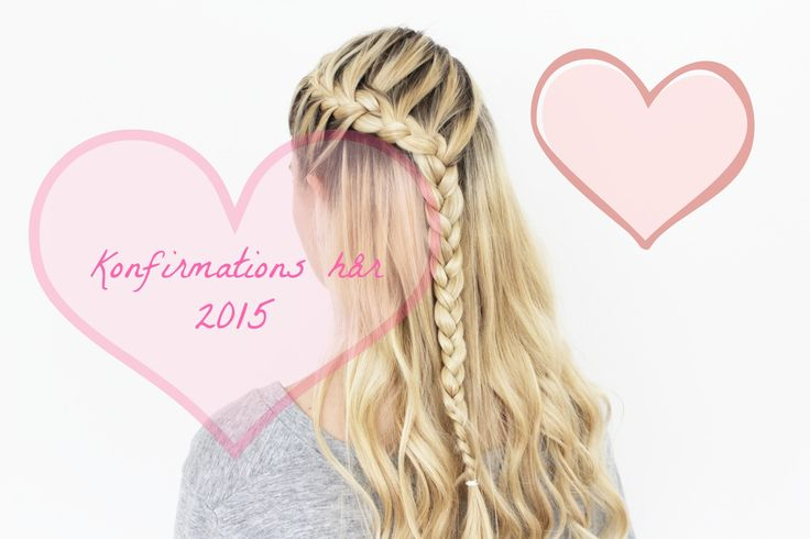 To flettede konfirmations frisurer 2015 feat. HH Simonsen