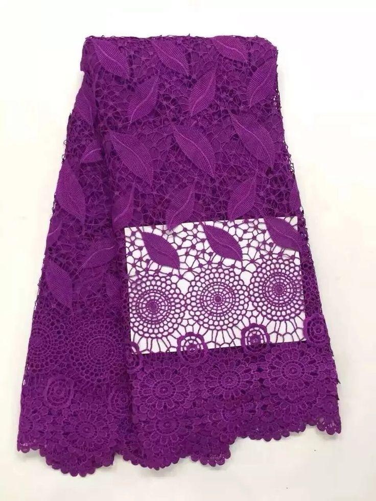 2016 НОВЫЙ Высокого качества Африканская гипюр кружева ткань для шитья Красный африканский шнур кружевной ткани для нигерии свадьбы купить на AliExpress