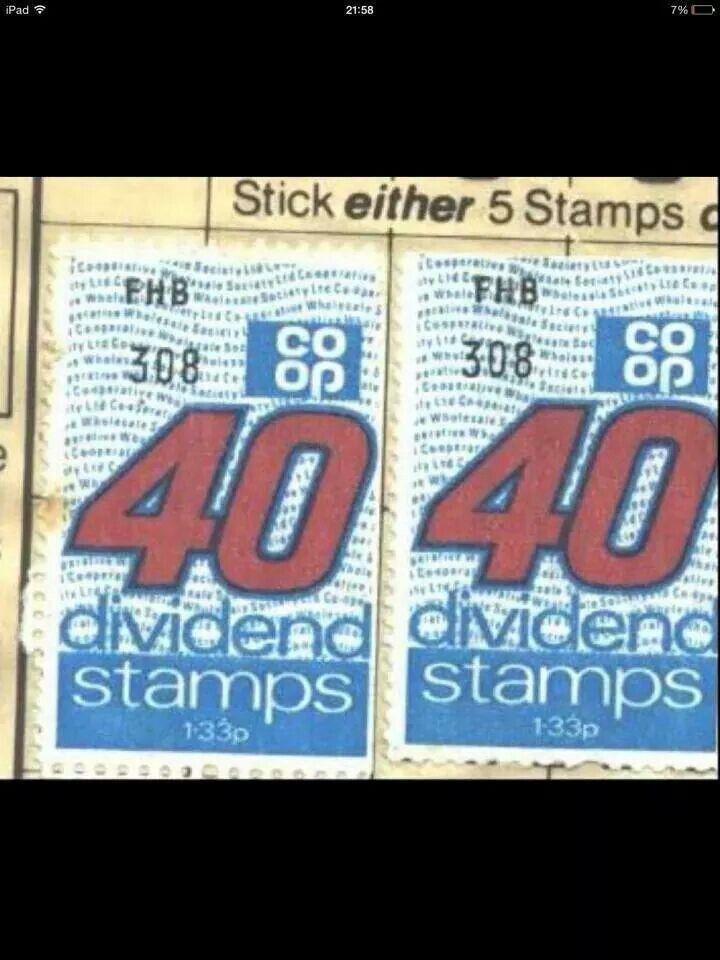 Coop stamps
