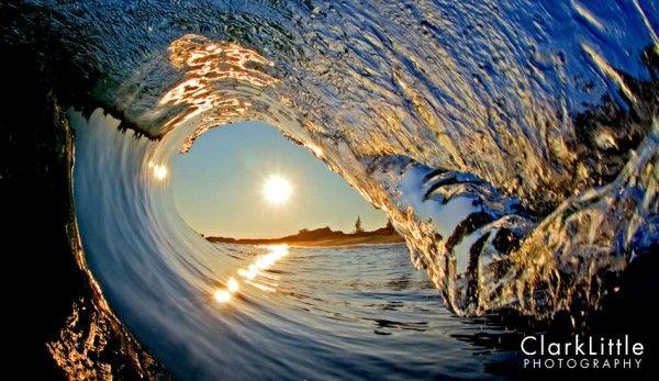 Beautiful Barrel Shot from Clark Little Photography