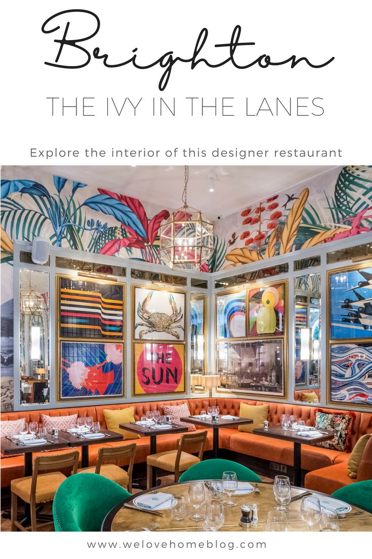 Brighton restaurant review the ivy in the lanes - Ivy interior design software reviews ...