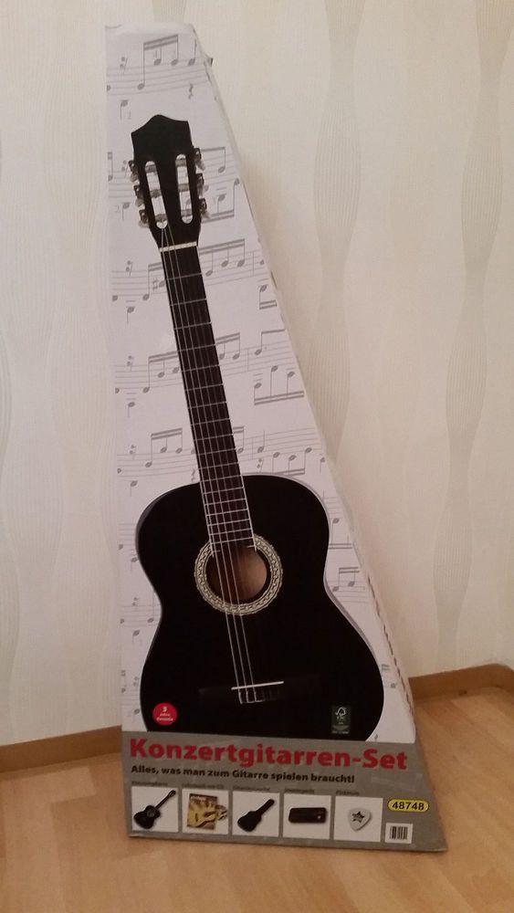 Konzert Gitarre Akustik Gitarre Klassik Gitarre 4/4 Linde Ahorn Stimmgerät