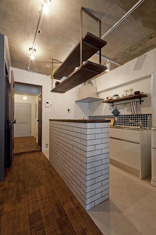 大きな栗の床の上 | 施工事例 | SIMPLE HOUSE (シンプルハウス)