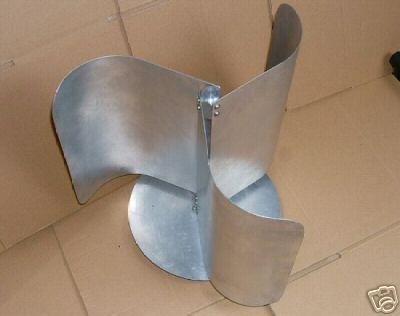 Vertical Wind Turbine Generator Blades