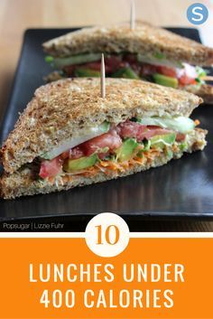These lunches are delicious, healthy, easy and low calories.  Each of these recipes are under 400 calories and are perfect for any lunch.  http://www.simplemost.com/lunches-under-400-calories-you-can-stay-fit-full/?utm_campaign=social-account&utm_source=pinterest.com&utm_medium=organic&utm_content=pin-description