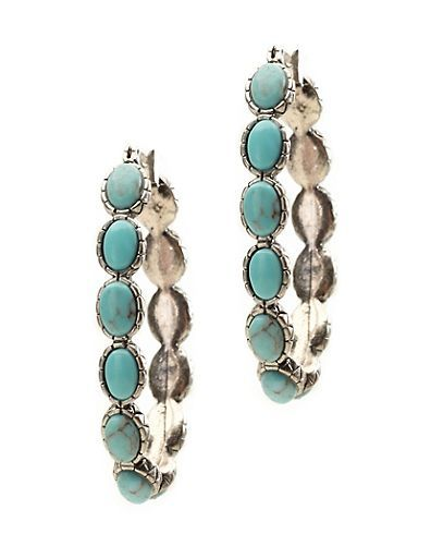 TURQUOISE HOOP - Lucky Brand - na