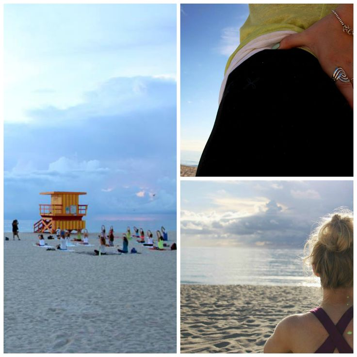 Our blogger 'She Can't Eat What' took Wellicious to Miami for practicing yoga at the beach. Emma is wearing our Wellicious sports bra in Deep Lilac: http://goo.gl/wirFdY and our True 7/8 Leggings in black: http://goo.gl/8Z96oc Doesn't it look amazing?