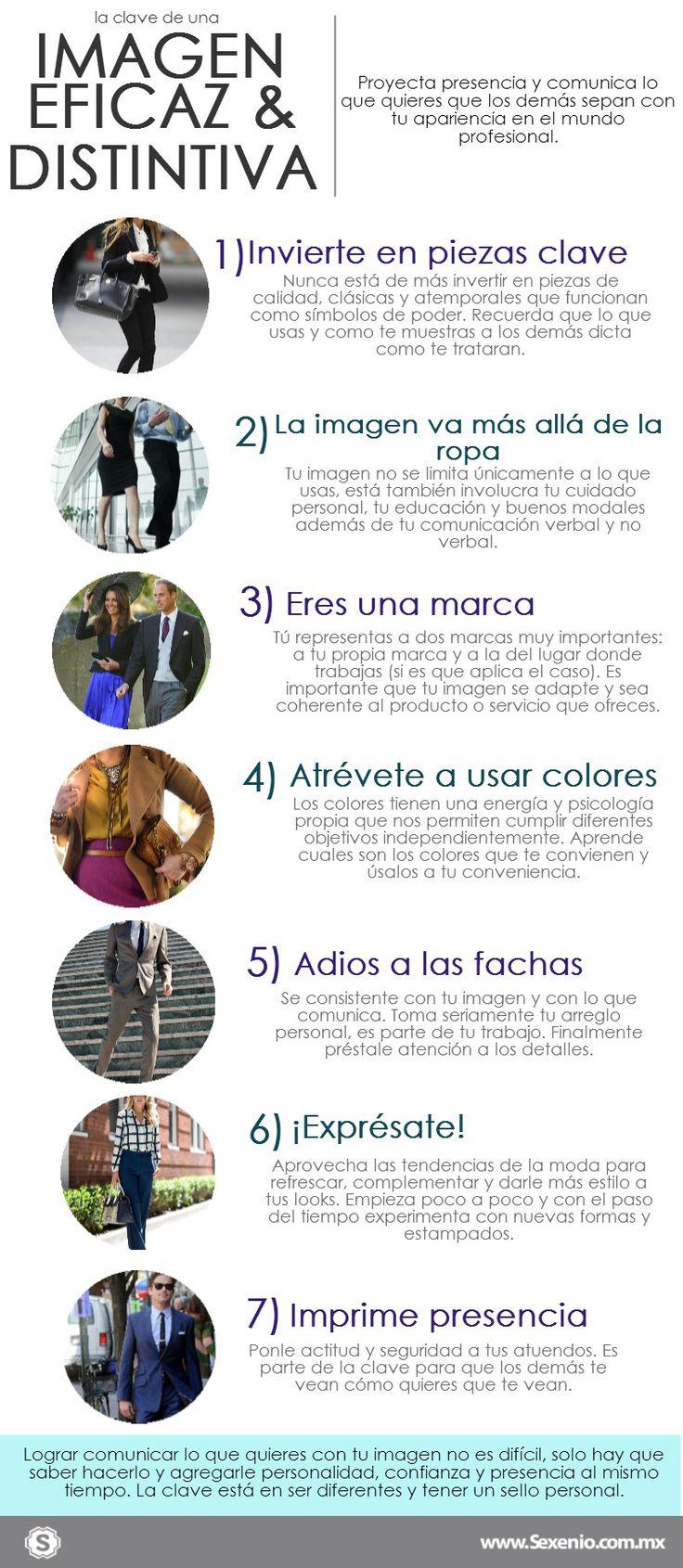 La clave para proyectar una imagen eficaz, eficiente y distintiva se resume en estos 10 consejos.