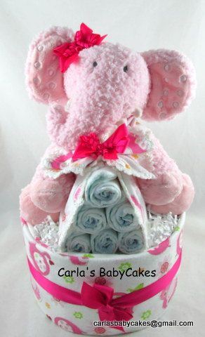 229 best baby diaper elephants images on pinterest elephant pink diaper cake girl diaper cake elephant diaper cake new baby gift stork bundle baby shower gift baby diaper cake new mom negle Image collections