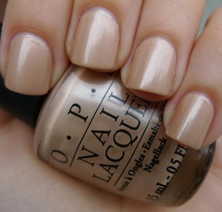 OPI Sand in my Suit. Just found this shade and it is the perfect nude color for pale-skinned ladies:) Love it!