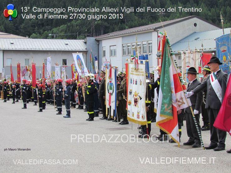Le prime 240 foto della sfilata e manovre degli Allievi Vigili del Fuoco del Trentino a Predazzo