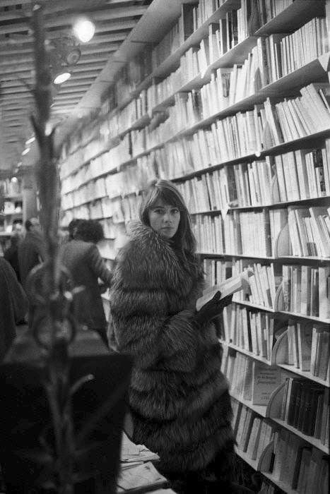 Francoise Hardy- I adore her!  But I would never wear fur.
