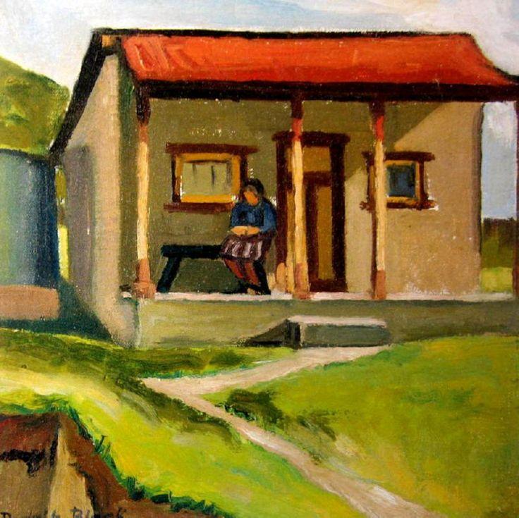 Farm House, Mt Torrens Dorrit Black (23 December 1891 – 13 September 1951). Australian painter and printmaker of the Modernist school, known for being a pioneer of Modernism in Australia