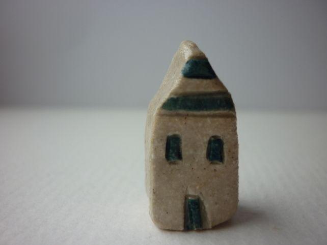 Tiny stripey house £3.00