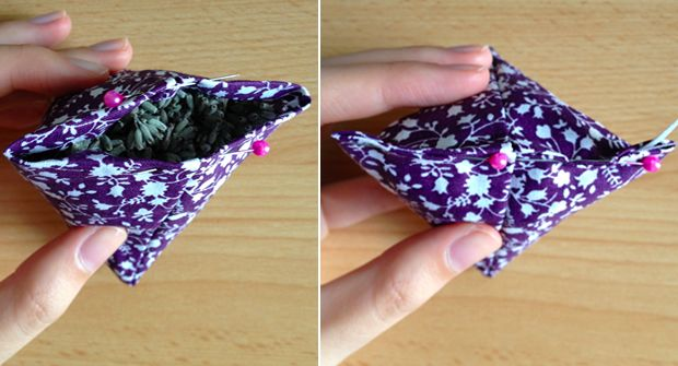 Voici un tuto pour coudre des petits berlingots de tissu afin d'accueillir de la lavande séchée et parfumer vos vêtements ! Oubliez les traditionnels petits sachets de tissu, les pochons en tarlatane ou en tulle …Lire la suite
