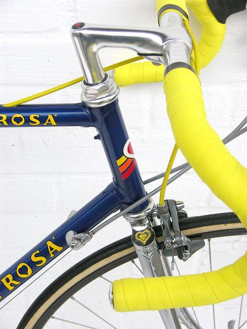 De Rosa Front Side View