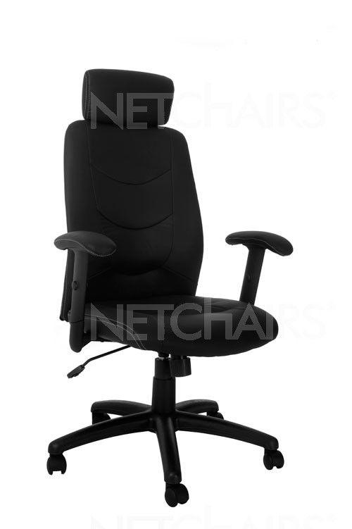 Cadeira Escritório Presidente Tourmaline Giratória com Rodinhas, Reclinável, Função Relax com Regulagem de Altura a Gás - 6729