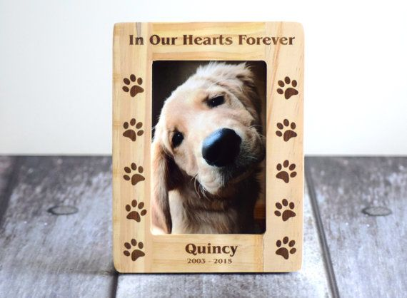 Hey, I found this really awesome Etsy listing at https://www.etsy.com/listing/233452598/pet-memorial-frame-dog-picture-frame